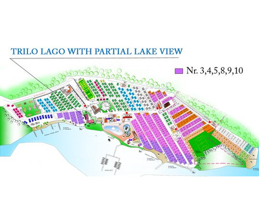 mappa - TRILO LAGO PARTIAL LAKE VIEW