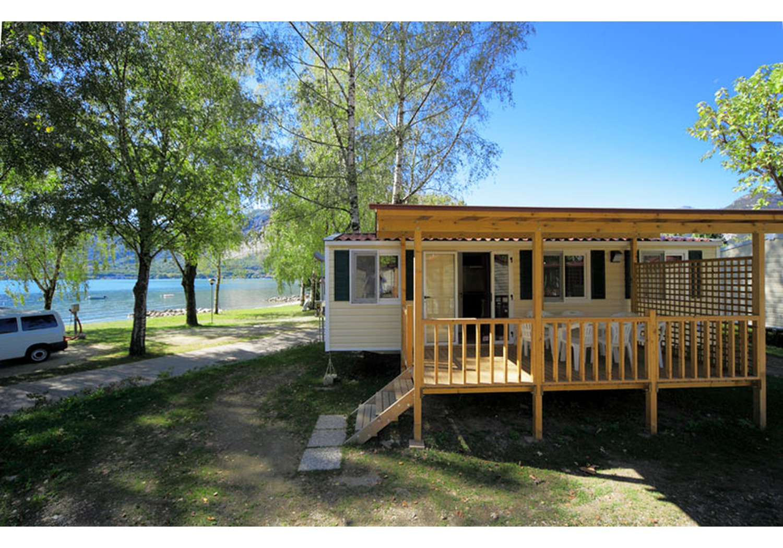 Mobilheim Kaufen Lago Maggiore : Maxi deluxe mobilheime am lago maggiore isolino